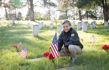 Everyday is a good day to honor our veterans – Click on Picture to View Story