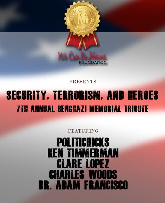 On Demand Security,Terrorism and Heroes with Nation's 7th Annual Benghazi Tribute