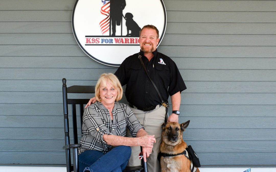 K9S FOR WARRIORS – BORN BY MOTHER'S LOVE