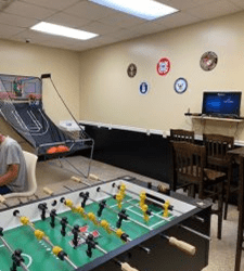 PRESS RELEASE:  Homeless Veterans Honored with Recreation Room